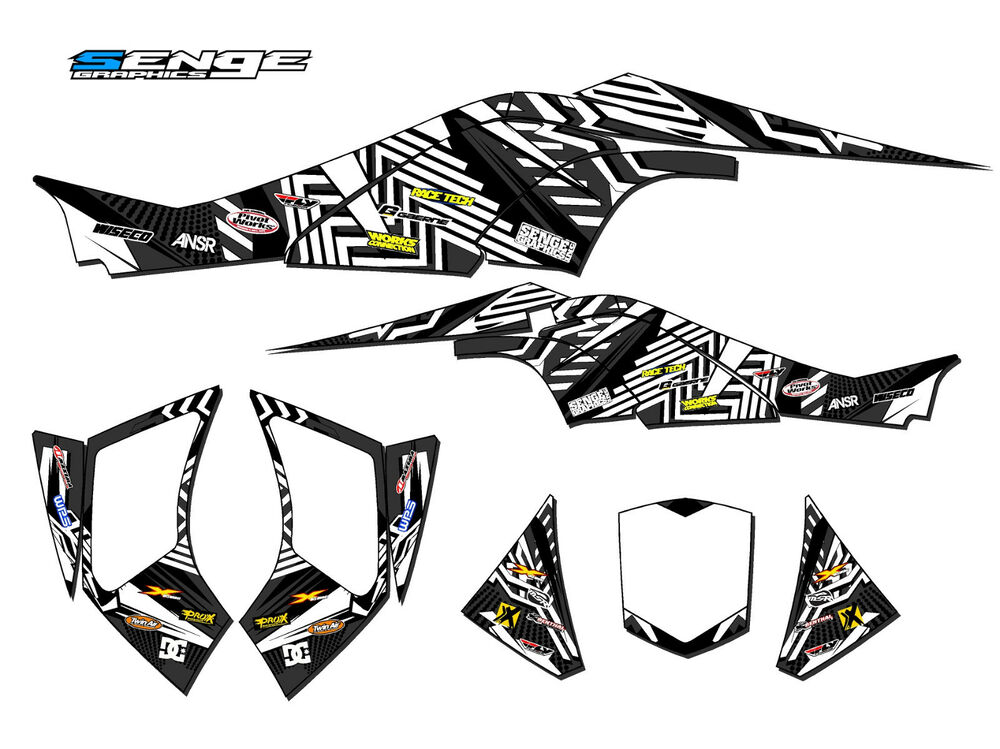CAN-AM CAN AM DS450 DS 450 GRAPHICS KIT ATV STICKERS