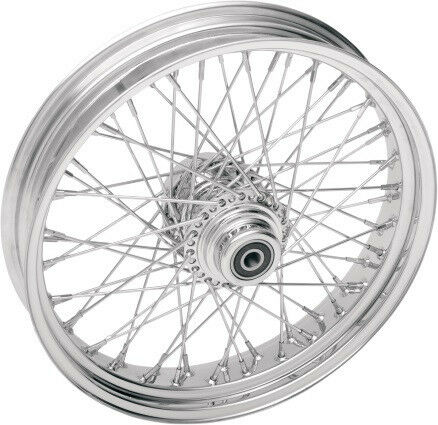 60 SPOKE BILLET HUB FRONT WHEEL 16 X 3.5 HARLEY SOFTAIL
