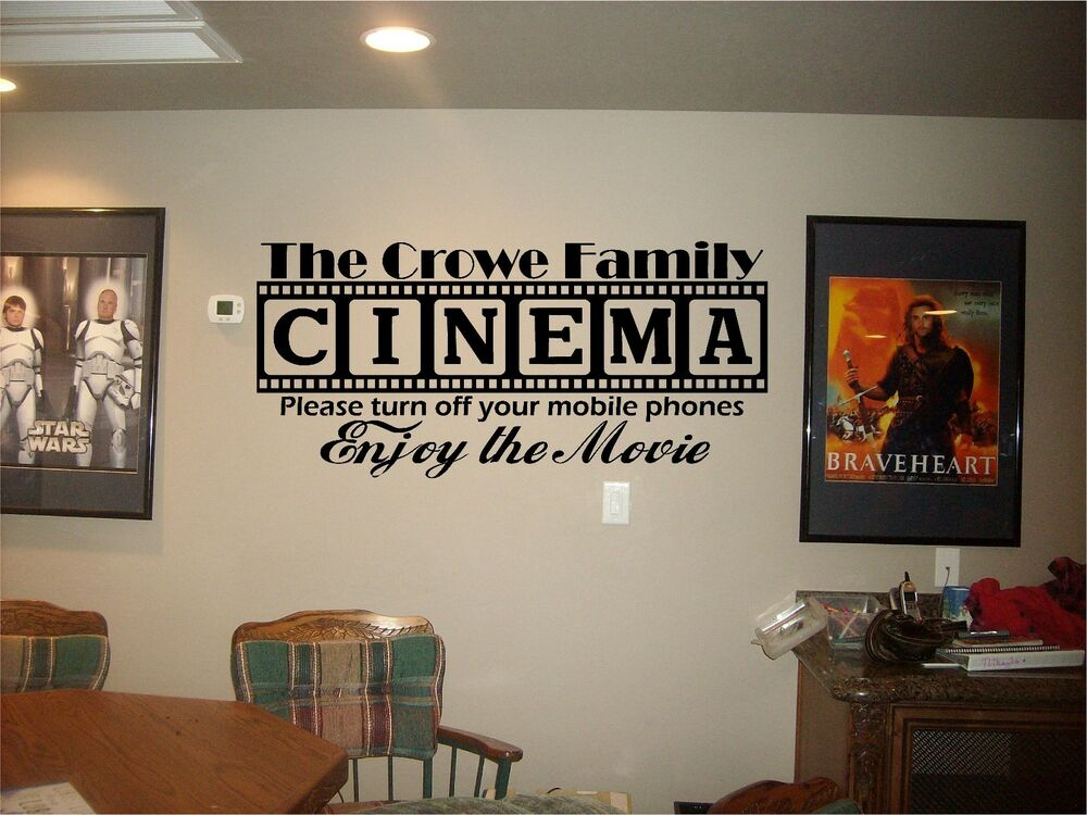 Movie Theater Decor EBay