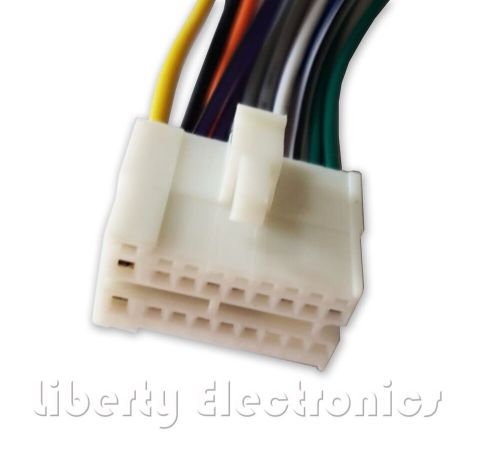small resolution of new 16 pin wiring harness plug connector for clarion vz400 pioneer car audio wiring harness