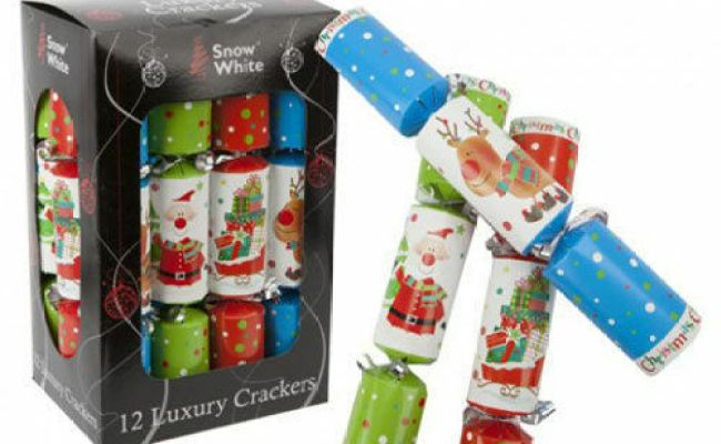New Traditional Fun 12 Inch 12 Pack Christmas Crackers