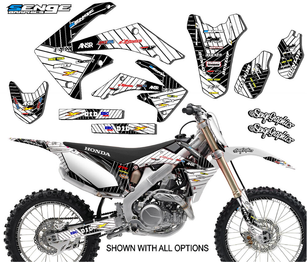 2006 2007 CRF 250R GRAPHICS KIT CRF250R 250 R DECO STICKER