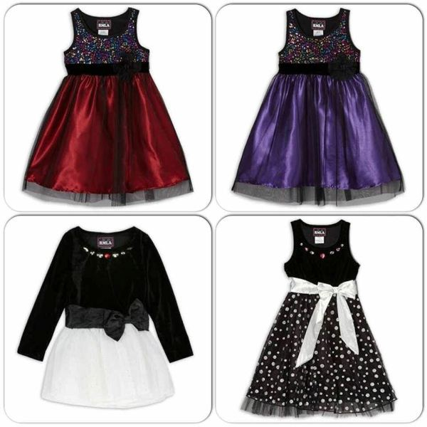 Rmla Girls Toddler Holiday Party Dresses Assorted Colors 2t 3t 4t