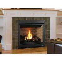 Superior Merit Plus Direct-Vent Gas Fireplace, Front View ...