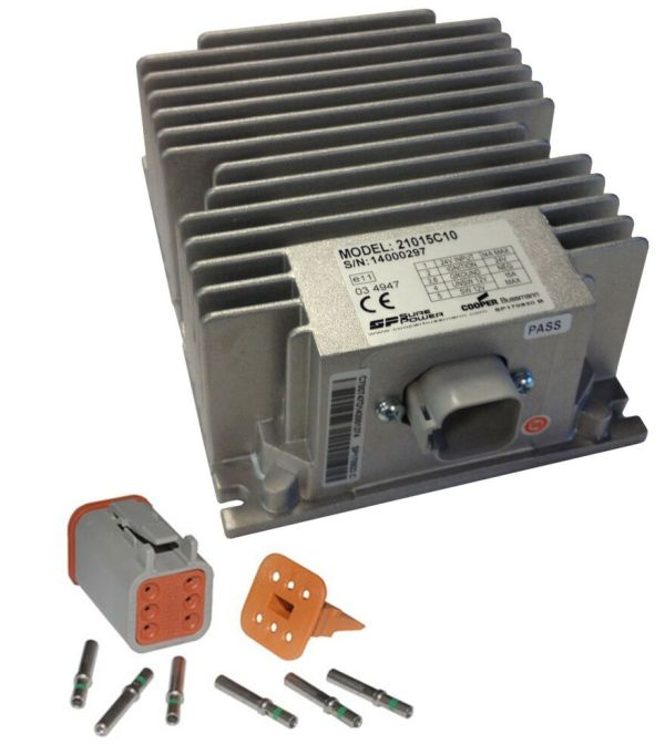 Sure Power 21015c10 - 24 Volt 12 Converter 15 Amp With Switched Output