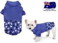 Dog Polo T Shirt Blue XS S M- Puppy Clothes Clothing ...
