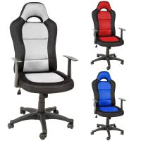 OFFICE CHAIR RACING CAR SEAT LUXUS COMPUTER EXECUTIVE ...