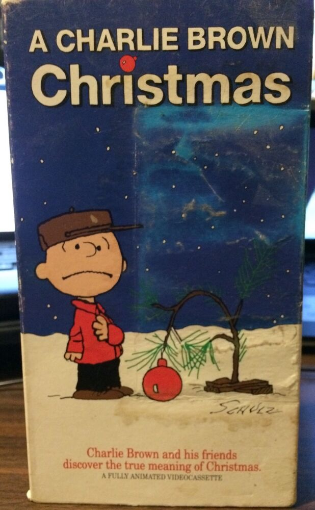 A Charlie Brown Christmas 1965 VHS Used Schulz EBay