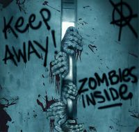 Keep Away-Turn Back-ZOMBIE INSIDE-DOOR COVER-Walking Dead ...