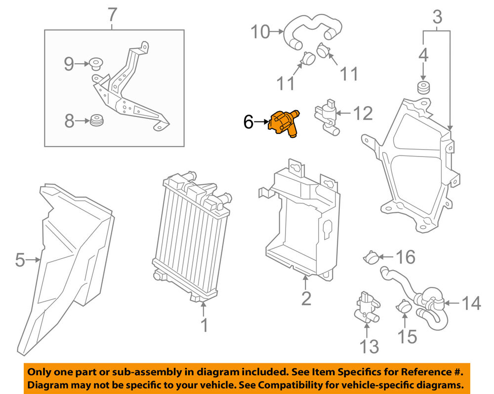medium resolution of details about audi oem 10 15 q7 auxiliary water pump 059121012a