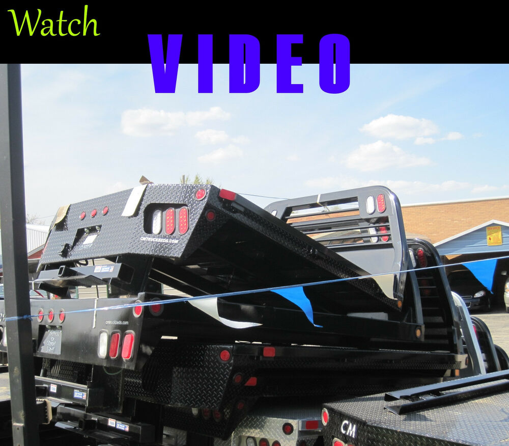 hight resolution of cm flat bed rd2 replacment body 4 ford short bed truck generic ebay