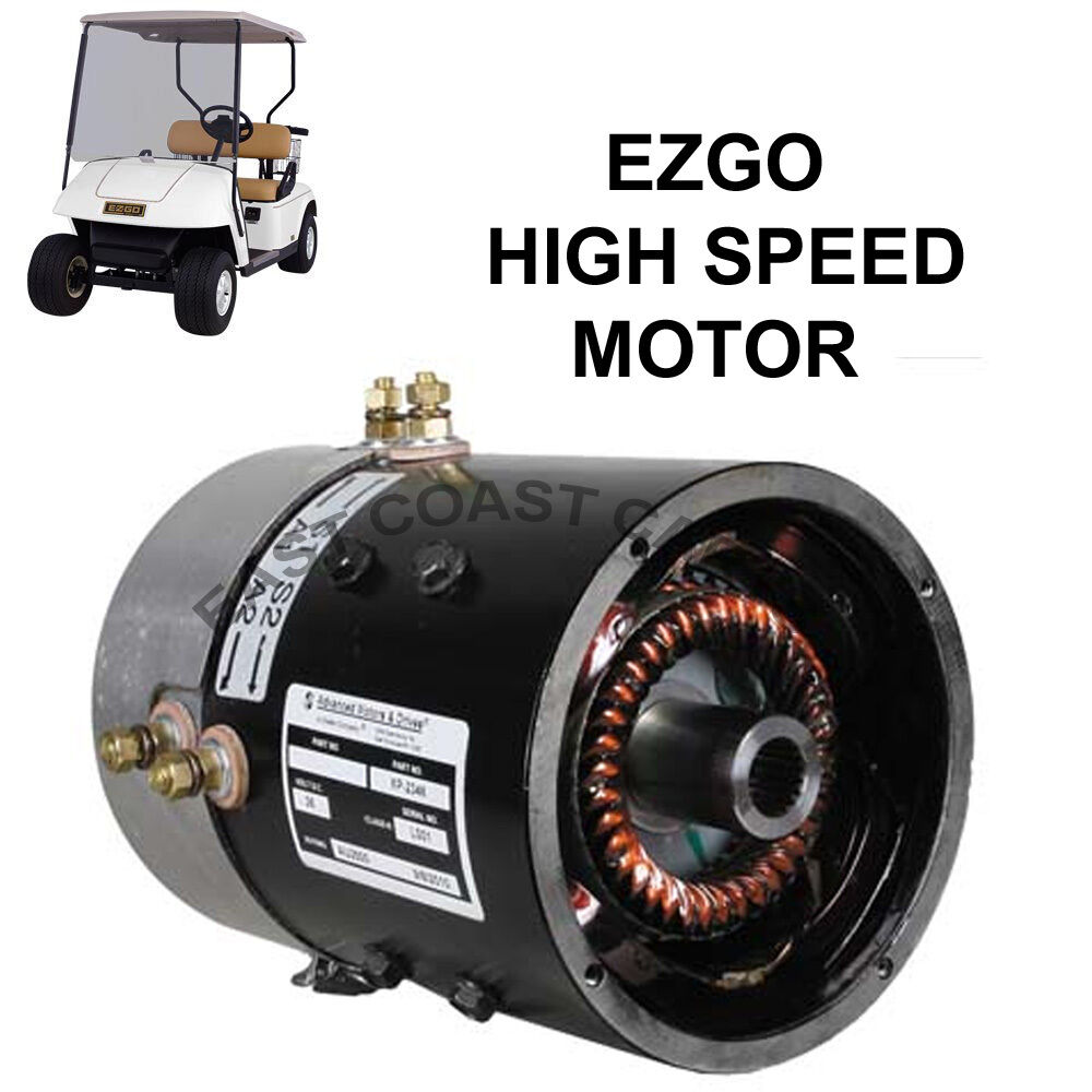 hight resolution of details about ezgo 36 volt series golf cart high speed motor up to 23mph