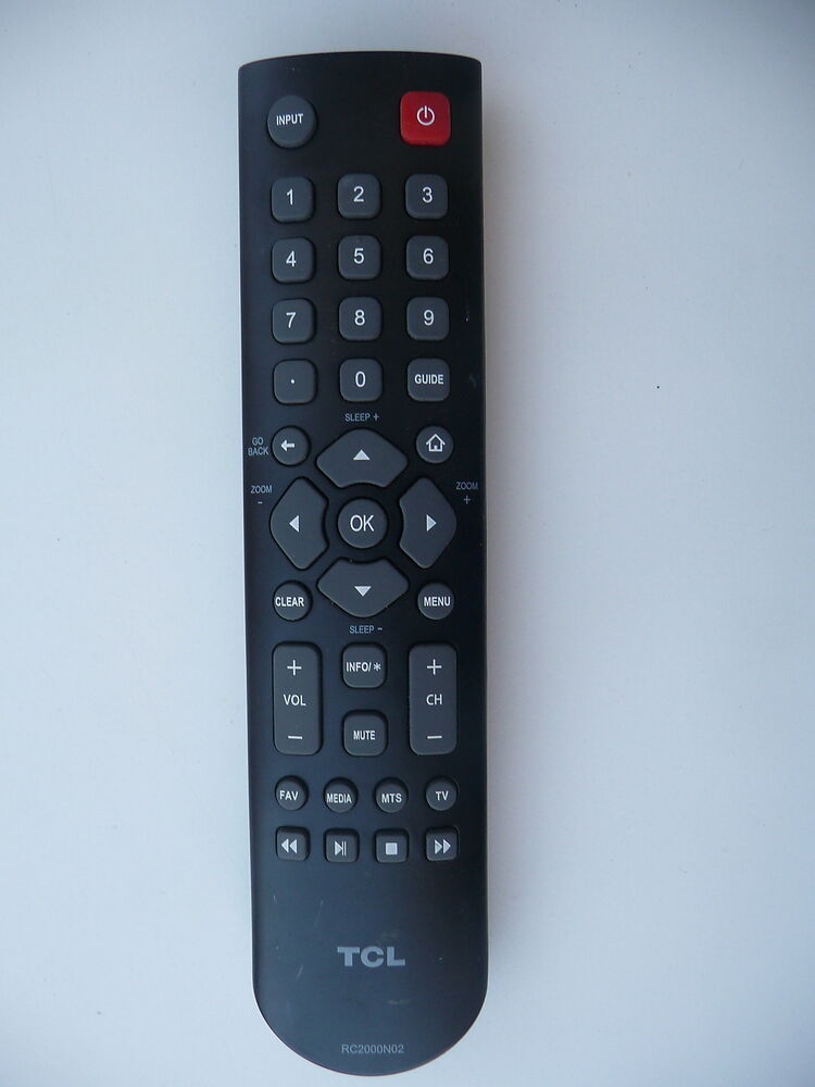 TCL RC2000N02 TV OEM REMOTE CONTROL EBay