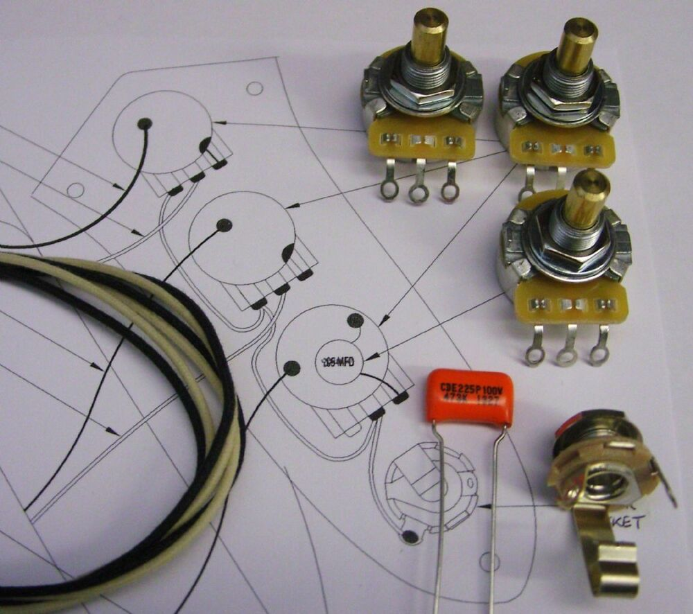 medium resolution of details about upgrade wiring kit for jazz bass cts split or solid shaft pots o drop etc