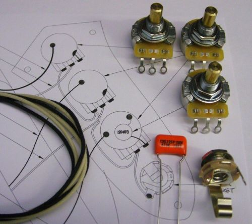 small resolution of details about upgrade wiring kit for jazz bass cts split or solid shaft pots o drop etc