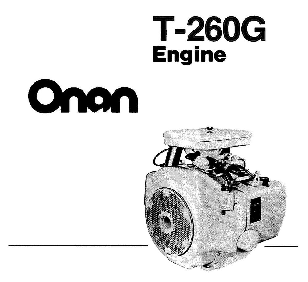 Onan Engine B48 Parts Manual, Onan, Free Engine Image For