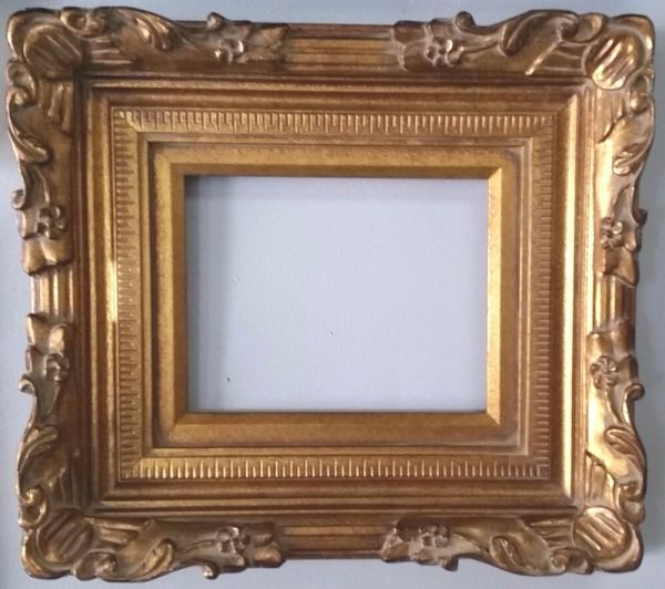 Gold Ornate Wood Frame 5