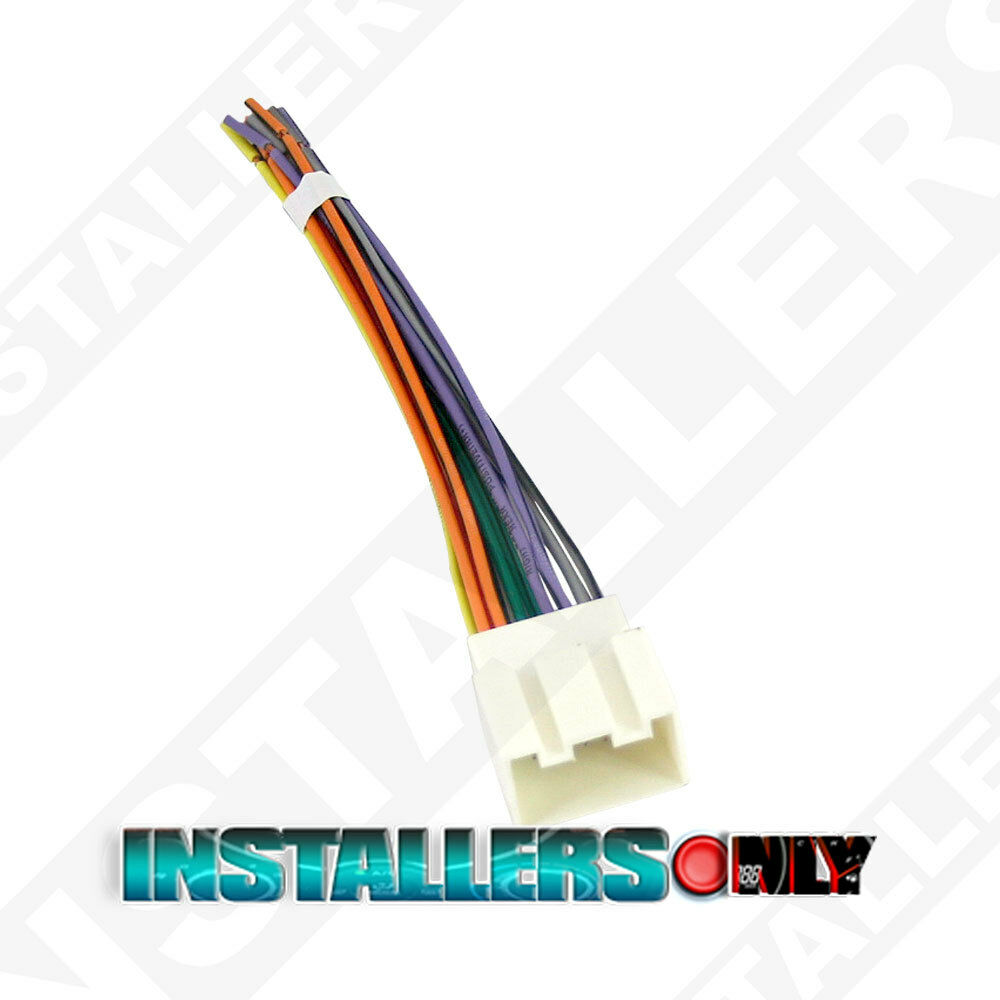 hight resolution of details about aftermarket car stereo radio wiring harness ford 1771 wire adapter plug