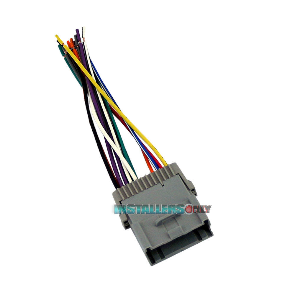 hight resolution of details about aftermarket car stereo installation wiring harness radio wire adapter gm 2003