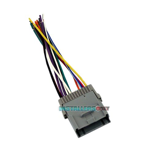 small resolution of details about aftermarket car stereo installation wiring harness radio wire adapter gm 2003