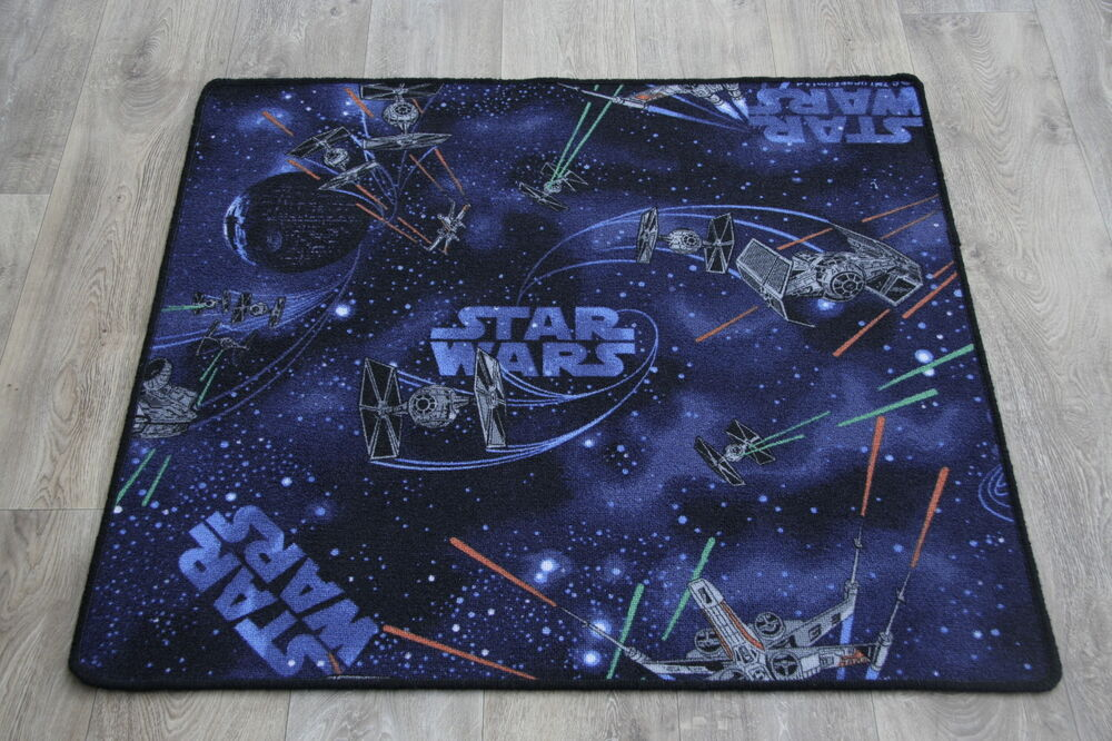 Quality Star Wars Rug Spaceships 4 Sizes In Stock Star
