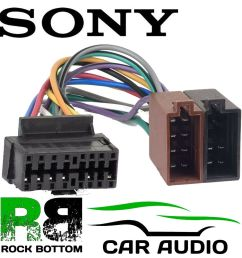 details about sony cdx gt430u car radio stereo 16 pin wiring harness loom iso lead adaptor [ 1000 x 1000 Pixel ]