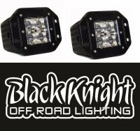 "2 qty-Black Knight Lighting 3"" LED ""Flush Mount"" Pods ..."