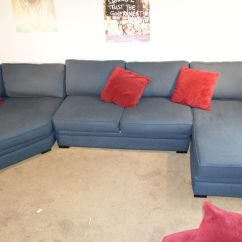 Sofas For Sell Slate Grey Sofa Living Room Decor Aaron Belle Berry Sectional (armless Love Seat, Raf Chaise ...