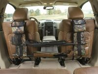 Back Seat Gun Rifle Rack Shotgun Storage Vehicle Truck ...