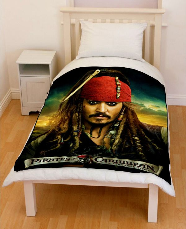 Pirates of the Caribbean Jack Sparrow Comforter