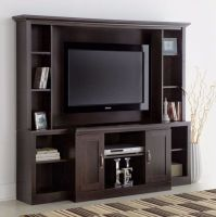 Large Entertainment Center TV Stand Media Console ...