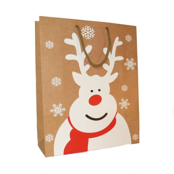 NEW CHRISTMAS GIFT BAGS PAPER SMALL MEDIUM LARGE