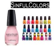 lot of 10 sinful colors finger