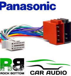 details about panasonic cq c1001 nw model 16 pin car stereo radio iso wiring harness lead [ 1000 x 1000 Pixel ]