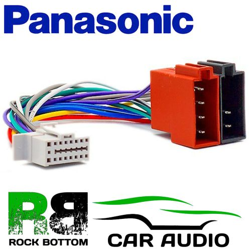 small resolution of details about panasonic cq c1001 nw model 16 pin car stereo radio iso wiring harness lead