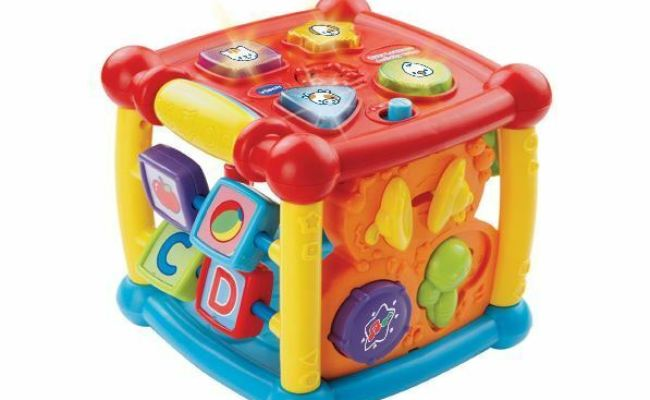 Developmental Activity Cube Toy Musical Baby Toddler Kid