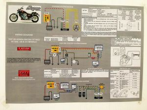 NEW! 1987 1988 VF700C VF750C Honda Super Magna Laminated