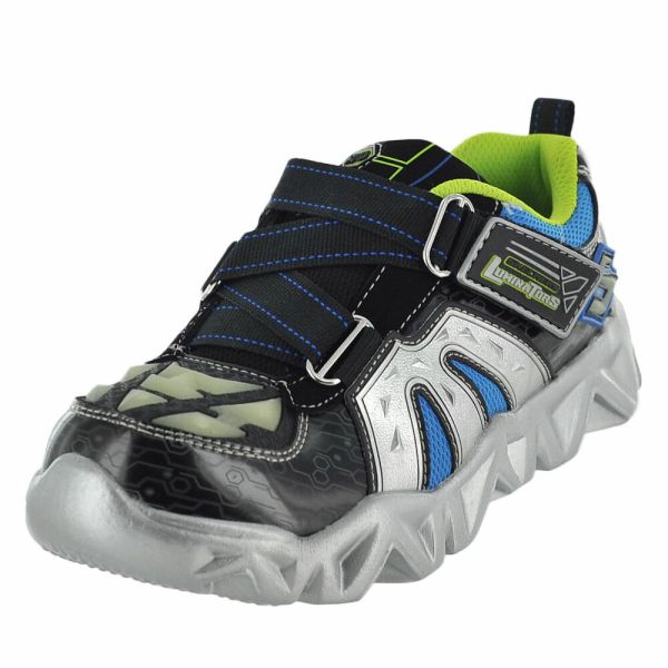 Boys Skechers Datarox Hydrometer Sneakers Light Shoes Sz 12 13 1 2 3