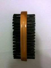 mens black bristle double-sided