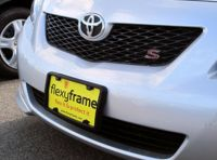 A NASA-like Rubber License Plate Bracket Frame Holder ...