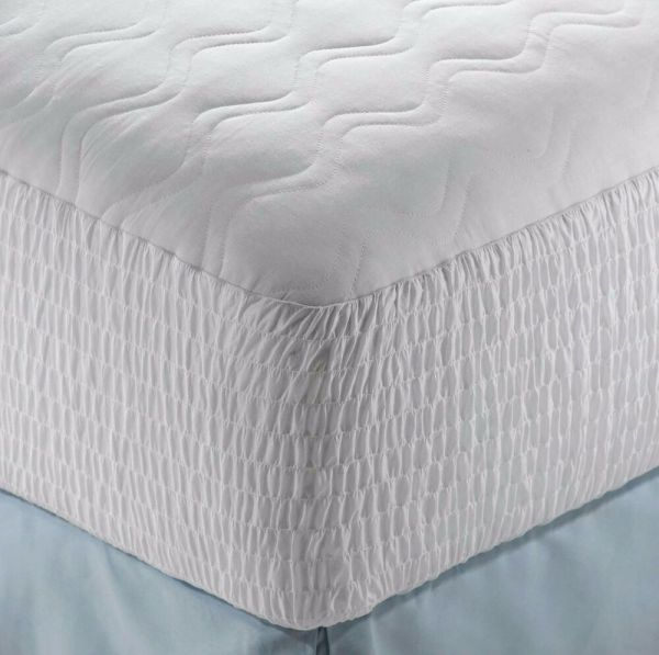 Beautyrest Top Mattress Pad Soft Cotton Protector Cover Bed Bedroom Sleep Night