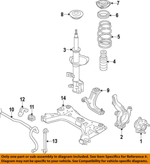 small resolution of details about nissan oem 07 15 versa stabilizer sway bar front link 54618jx00a