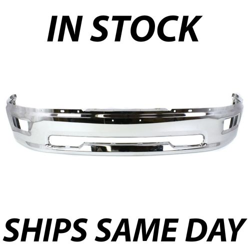 small resolution of details about new chrome front bumper face bar for 2009 2010 2011 2012 dodge ram 1500 w fog