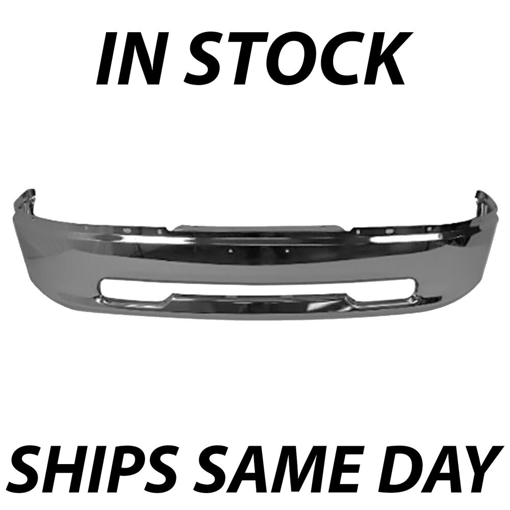 medium resolution of details about new chrome steel front bumper for 2009 2010 2011 2012 dodge ram 1500 pickup