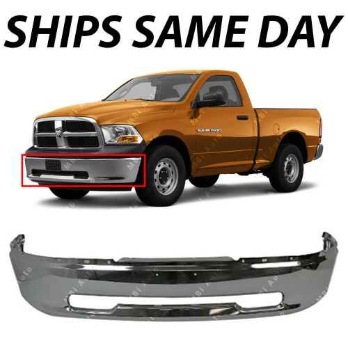 small resolution of details about new chrome steel front bumper for 2009 2010 2011 2012 dodge ram 1500 pickup