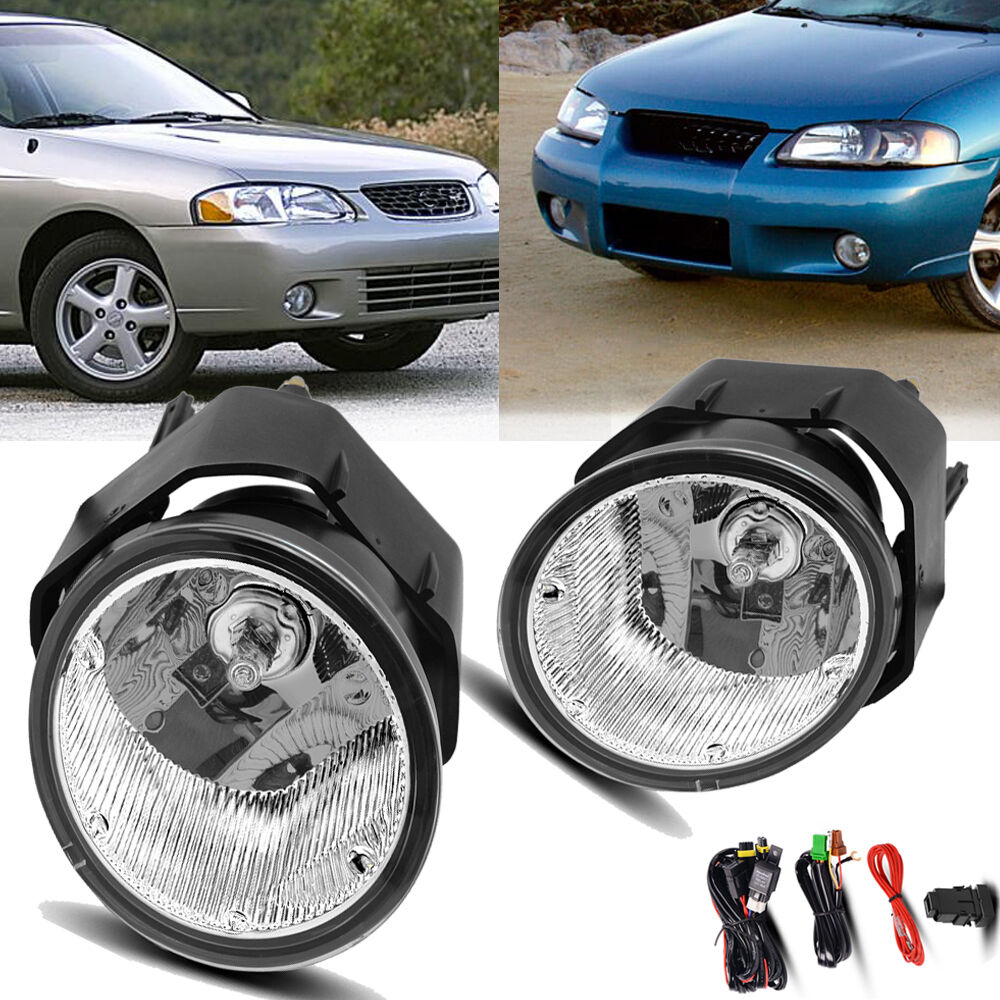 hight resolution of details about for 00 01 nissan maxima 00 03 sentra clear fog light front bumper lamps wiring