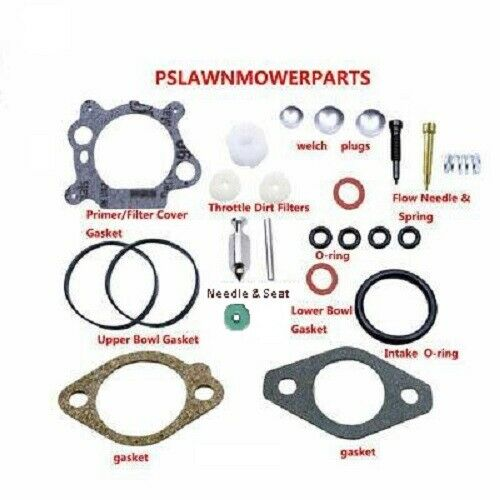 Carburetor kit for Briggs & Craftman Quantum 3.5, 4, 5, 6