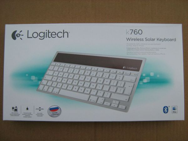 LOGITECH K760 Wireless Solar Keyboard English Russian