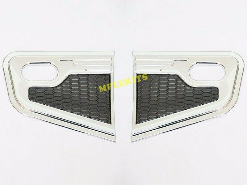 NEW CHROME SIDE VENT COVER TRIM FOR NISSAN NAVARA FRONTIER