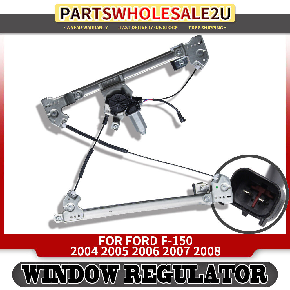 Front Left Window Regulator with Motor for Ford F-150 2004